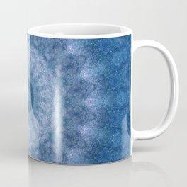 Blue Cosmos Mandala Coffee Mug