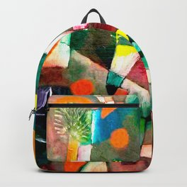Paul Klee - Full Moon Backpack