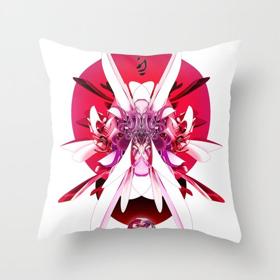 Another Photoshop Robot (Alternate Version) Throw Pillow