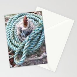 Mooring rope Stationery Cards
