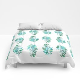 My feathered friend Comforters