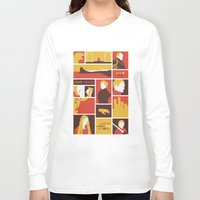 lannister Long Sleeve T-shirts featuring House Lannister by Jack Howse