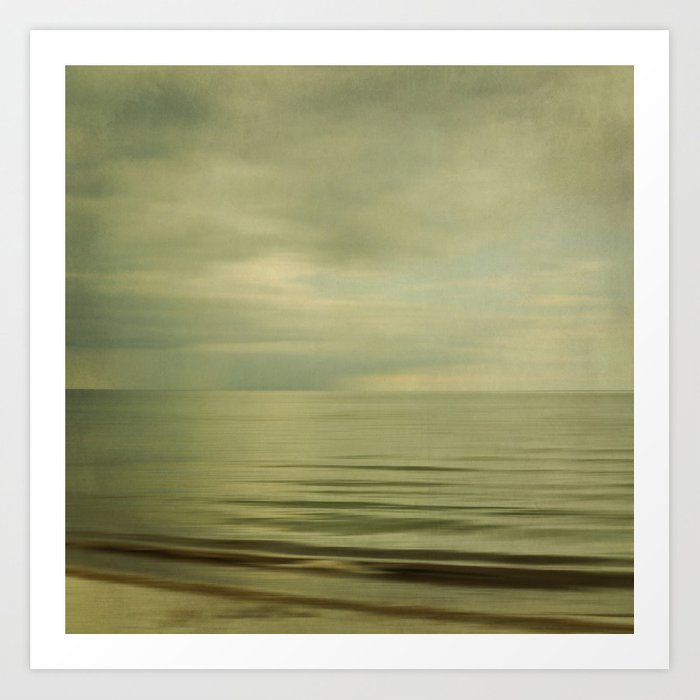 sea square XI Art Print