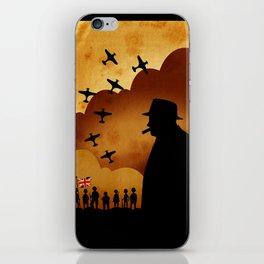 Winston Churchill - World War II iPhone Skin
