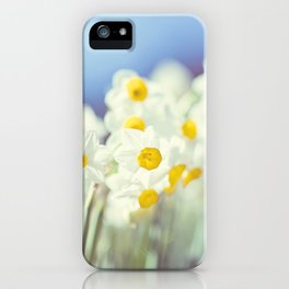 Daffy flowers iPhone Case