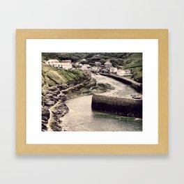 Boscastle   Framed Art Print