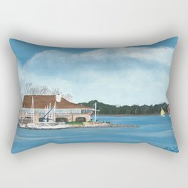 Jackson Yacht Club Rectangular Pillow