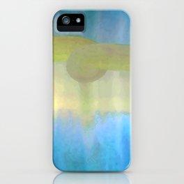 Hush, Blue iPhone Case