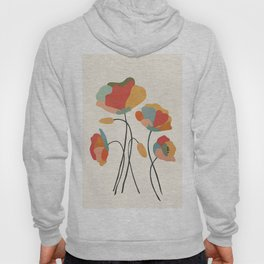 Colorful Flowers Hoody