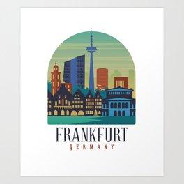 Frankfurt Germany Art Print