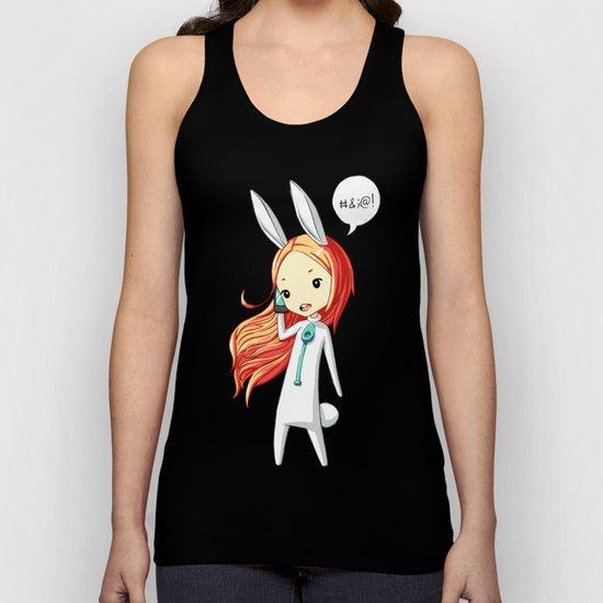 Bunny Girl 2 Unisex Tank Top