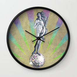 Disco Venus Wall Clock