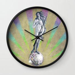 Disco Venus Wall Clock