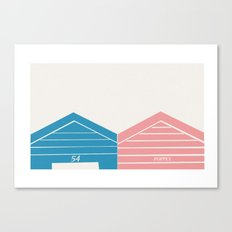 Hut 54 Canvas Print