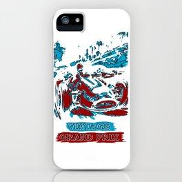 Vintage Grand Prix iPhone Case
