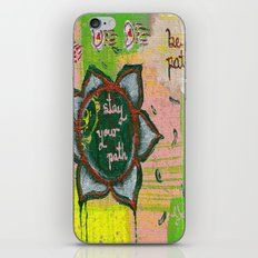 Stay your path iPhone & iPod Skin