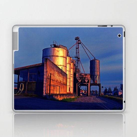 Urban grain depot Laptop & iPad Skin