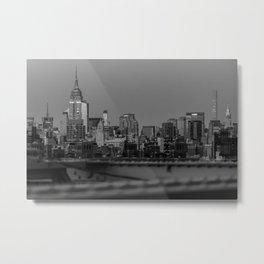 Quintessential New York Metal Print
