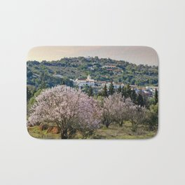 Algarve village in Spring Bath Mat