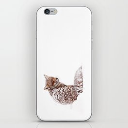 A Fox Fantasy (Red Fox in the snow)  iPhone Skin