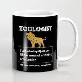 Funny Zoologist Zoology Wildlife Zoo Lion Coffee Mug