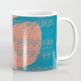 Schubert Sheet Music - Impromptu Coffee Mug