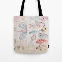 Seychelles Fish 2 Tote Bag