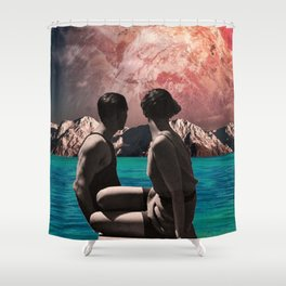 Utopian hope Shower Curtain
