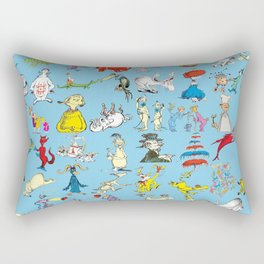 Dr. Seuss Characters Rectangular Pillow