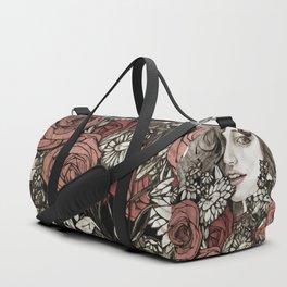 floral greetings Duffle Bag