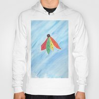 blackhawks Hoodies featuring Feathers by Smash Art