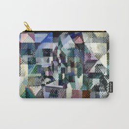 """Robert Delaunay """"Windows on the City No. 3"""" Carry-All Pouch"""