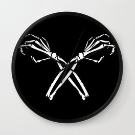Dead Hands Wall Clock