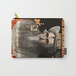 What Kind of an American Are You? Carry-All Pouch