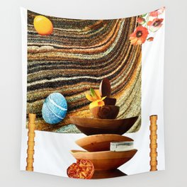 Sand Bowls Wall Tapestry