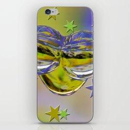 H2O and stars iPhone Skin