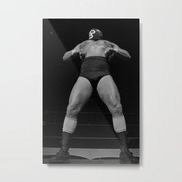 Mighty luchador Metal Print