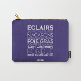 Paris — Delicious City Prints Carry-All Pouch