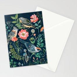 Birds Garden Stationery Cards