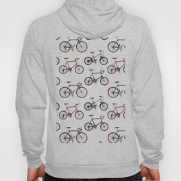 Bike life pattern (white) Hoody