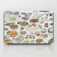 food iPad Cases featuring Food  by tofubros