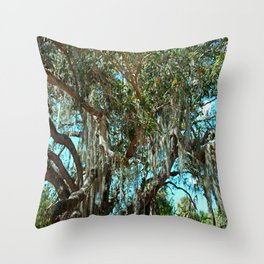 Delicate Flags Throw Pillow