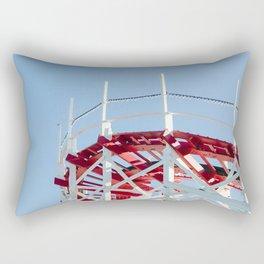 Beach Boardwalk Rectangular Pillow