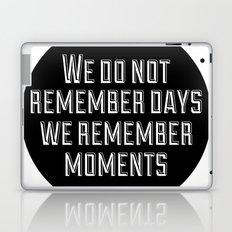 Remember Moments Laptop & iPad Skin