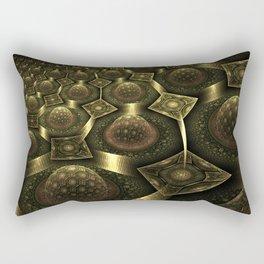 Magnetic fields Rectangular Pillow