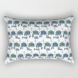 Let's Go to the Market! – Xmas Edition Rectangular Pillow
