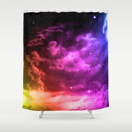 Universe 3D T-Shirt Shower Curtain