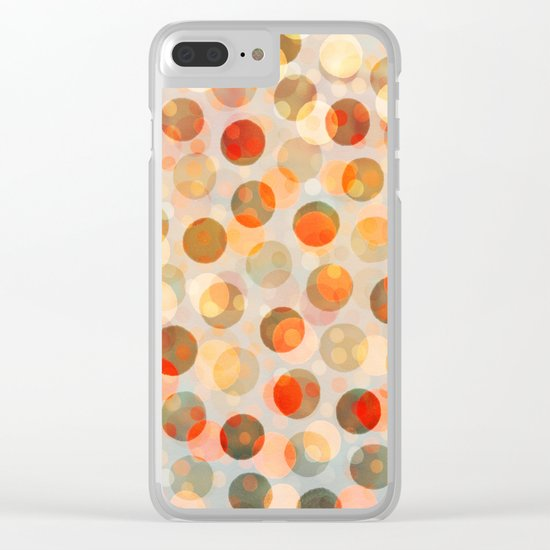 GOLDEN DAYS OF SUMMER Clear iPhone Case