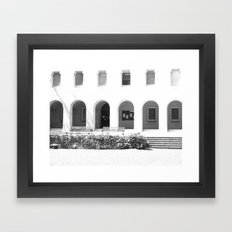 Silent Framed Art Print