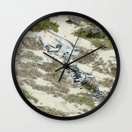 Whale Bone Wall Clock